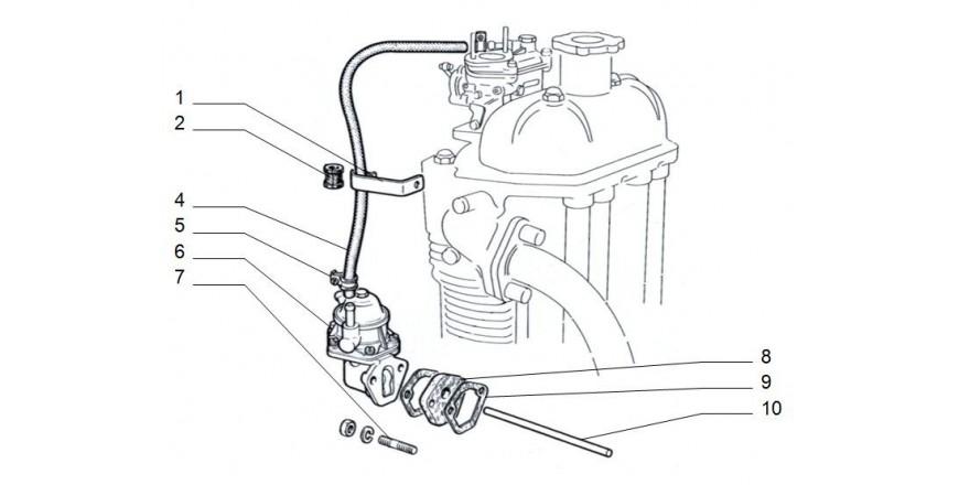 Benzinpumpe / Benzinleitungen