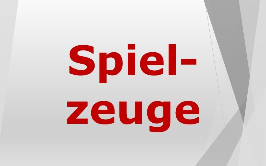 Spielzeuge